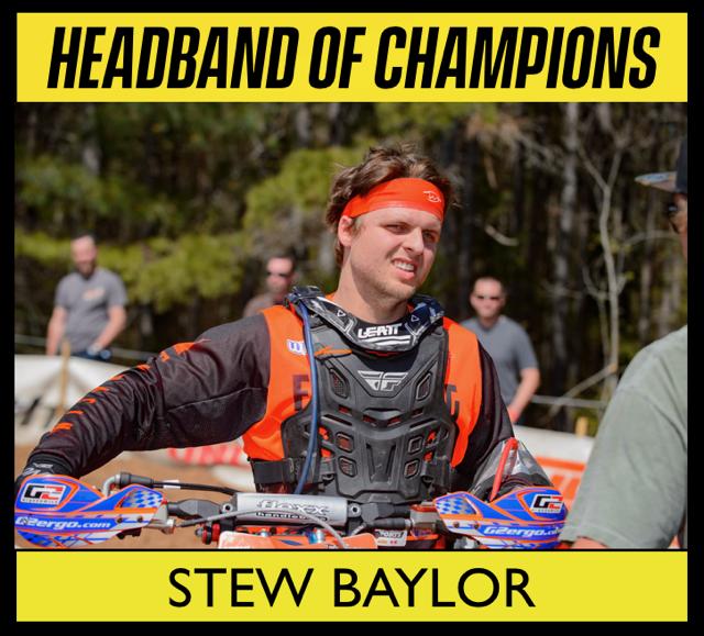 Sports headband for Stew Baylor