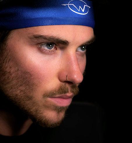 Wickflow Performance Headband in Blue