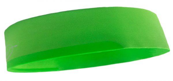 Green cycling headband