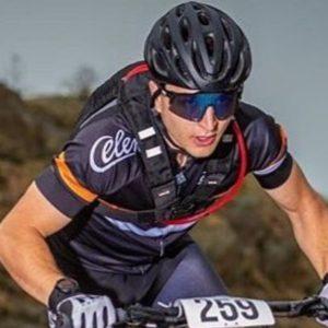 Cycling headband Mike Witkowski