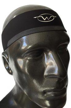 Black performance headband