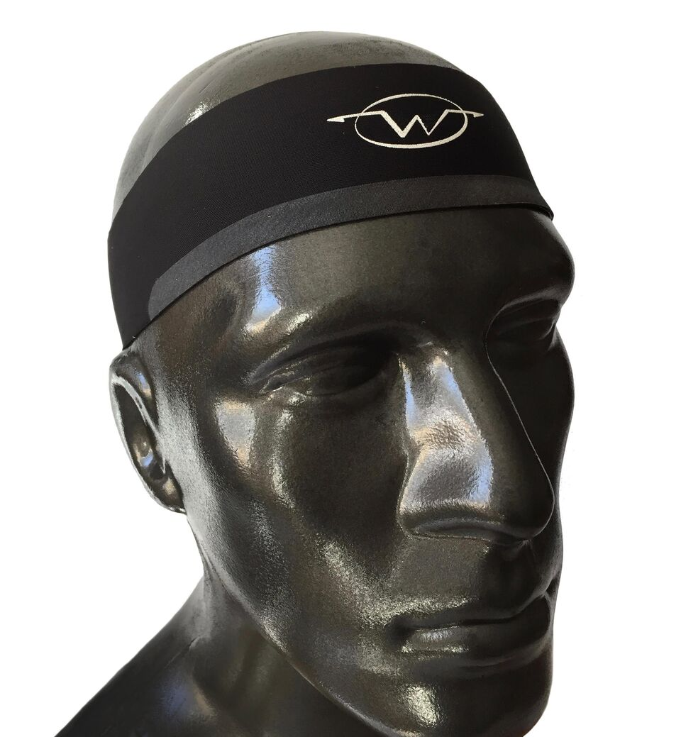 Black performance headband