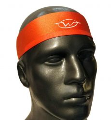 Orange performance headband