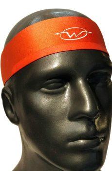 Orange performance headband
