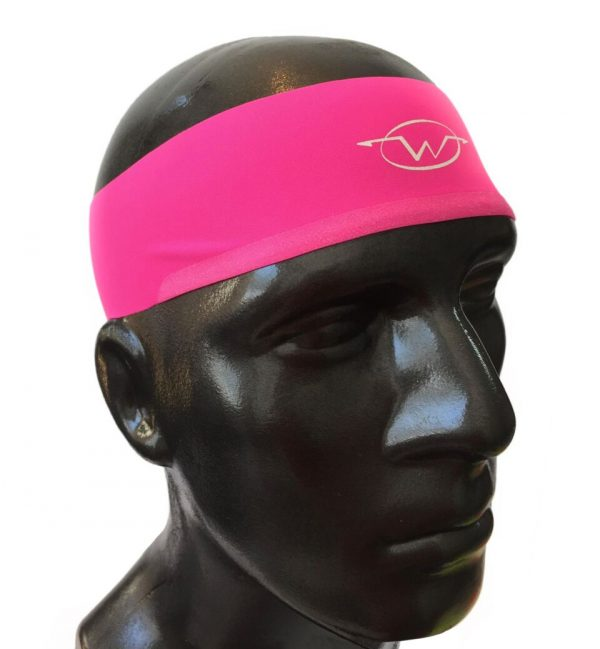 Pink performance headband