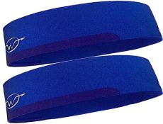 2-Pack Blue Performance Headbands