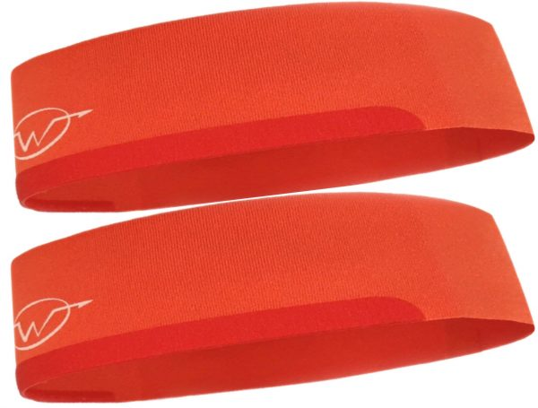 2-Pack Orange Performance Headbands