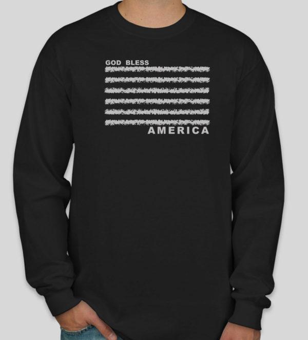 God Bless America - Long Sleeved T-Shirt
